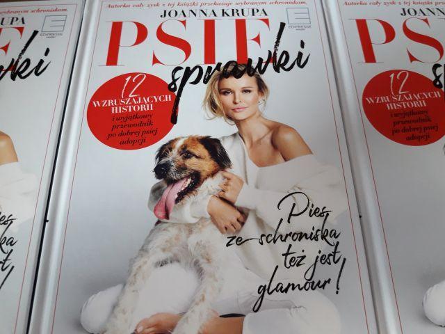 Zdjęcie główne #949 - Książka Psie Sprawki Joanna Krupa